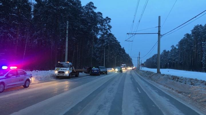 ГИБДД: аварии в Екатеринбурге происходят из-за нечищеных дорог