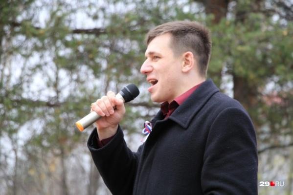 Активиста Андрея Боровикова задержали сегодня в 17:15. Обыски в офисе движения начались спустя примерно три часа