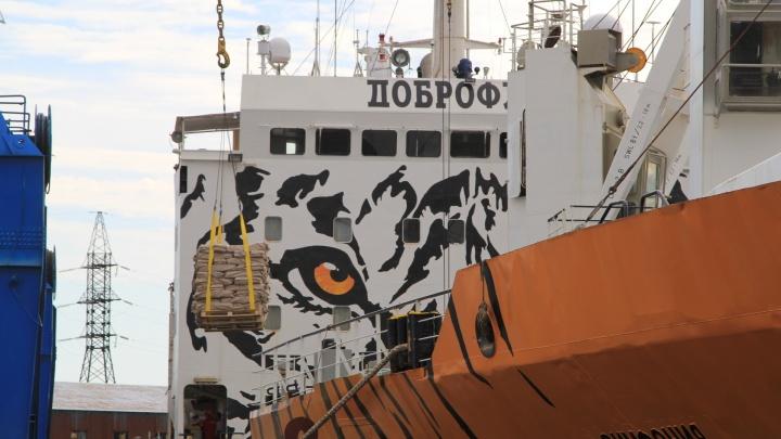 Голец, нерка, кета, горбуша: в Архангельск из Камчатки на «тигровом» судне доставили 2600 тонн рыбы