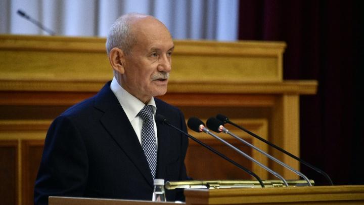 Глава Башкирии Рустэм Хамитов подал в отставку в День Республики
