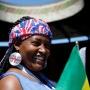 Танцы под барабан и селфи на Мамаевом кургане: иностранцы готовятся к матчу на«Волгоград Арене»