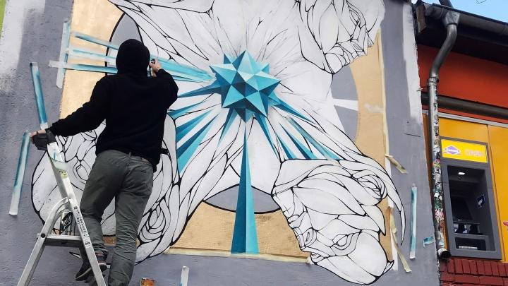 Нижегородский уличный художник Никита Nomerz оставил след в диком музее стрит-арта в Берлине