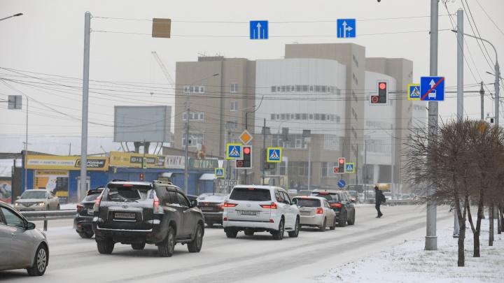 Дорожники отчитались об уменьшении пробок на Шахтёров по утрам