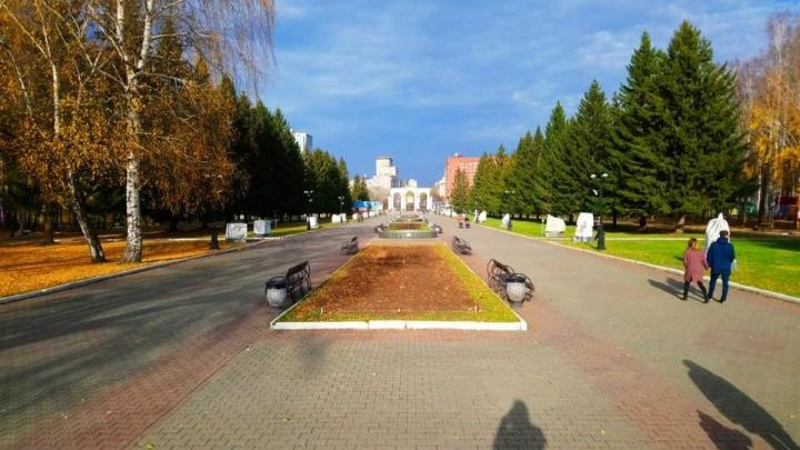 Центральную аллею парка Маяковского закроют, чтобы залить каток на зиму