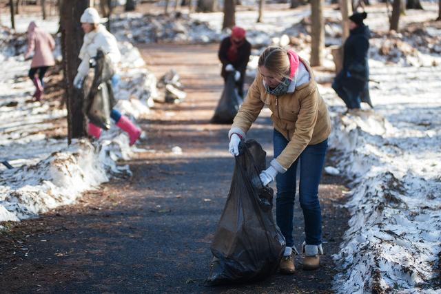 Горожане выйдут на субботники и очистят город от мусора, скопившегося за зиму