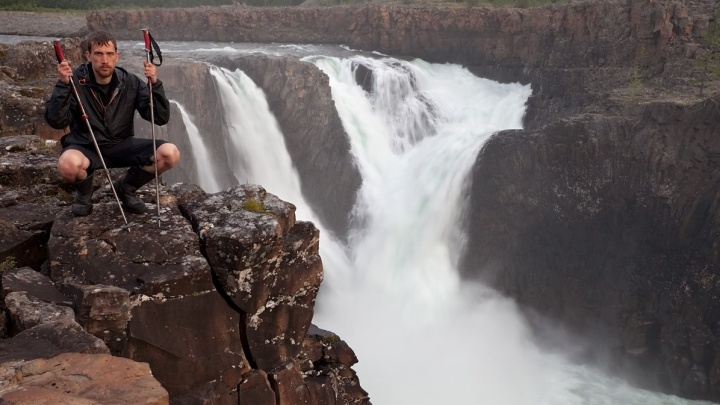 Путешественник из Миасса 33 дня ходил по плато Путорана и сделал потрясающее видео про его водопады