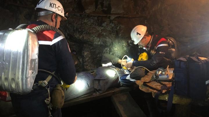 В Сибае экстренные службы окружили одну из шахт УГОКа