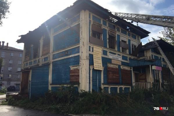 Здание давно нуждалось в ремонте