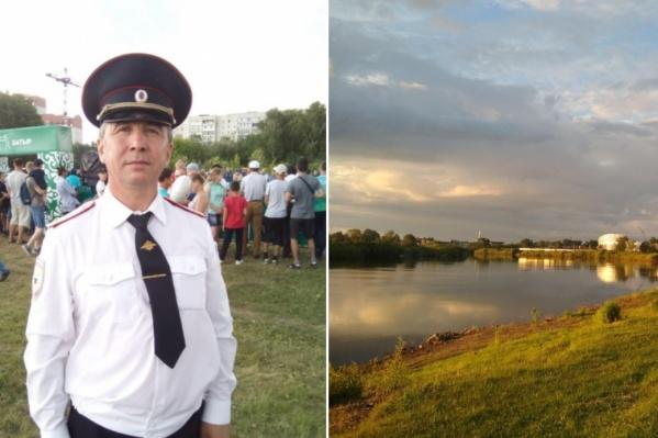 Радиф Сарипов проходил по парку «Заречный», когда увидел женщину в воде