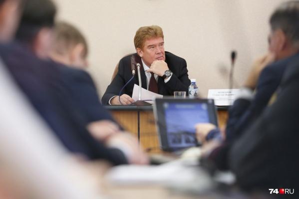 Владимир Елистратов возглавил город в ноябре прошлого года