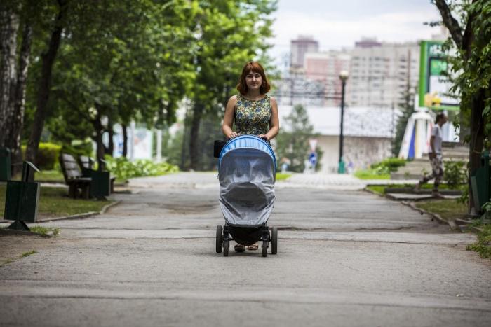 Младенец на бездорожье (фоторепортаж)