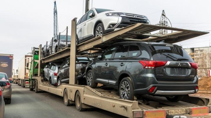 Минтранс ограничил въезд грузовиков в Самару