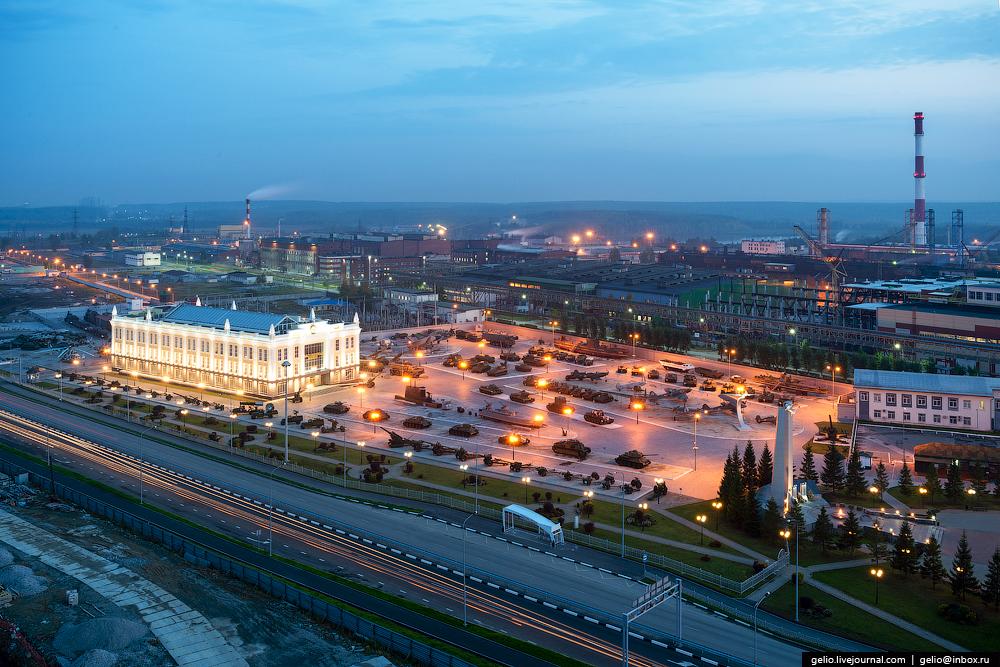 Андрей Козицын построил в Верхней Пышме огромный музейный комплекс и говорит, что это еще только начало масштабного проекта