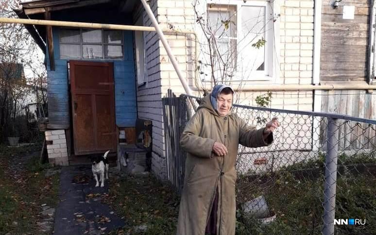 Антонина Сергеевна боится, что не переживёт выселения