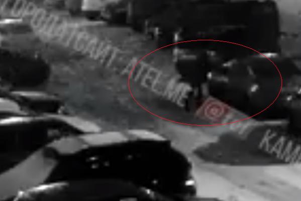 Инцидент попал на видео