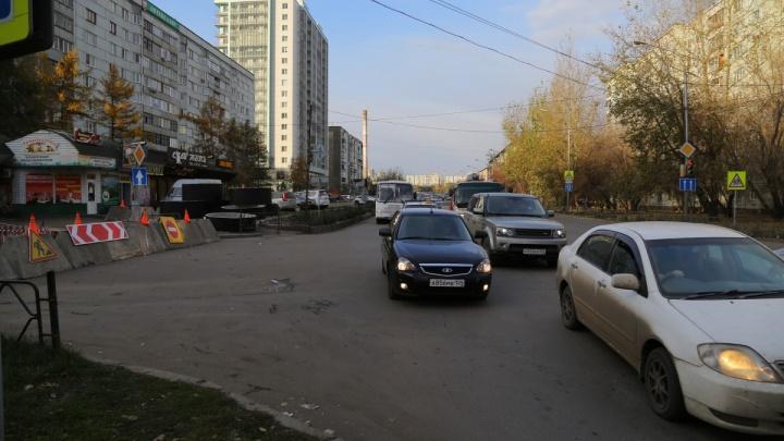 Перекрытие улицы Горького спровоцировало серьезные заторы по всему центру