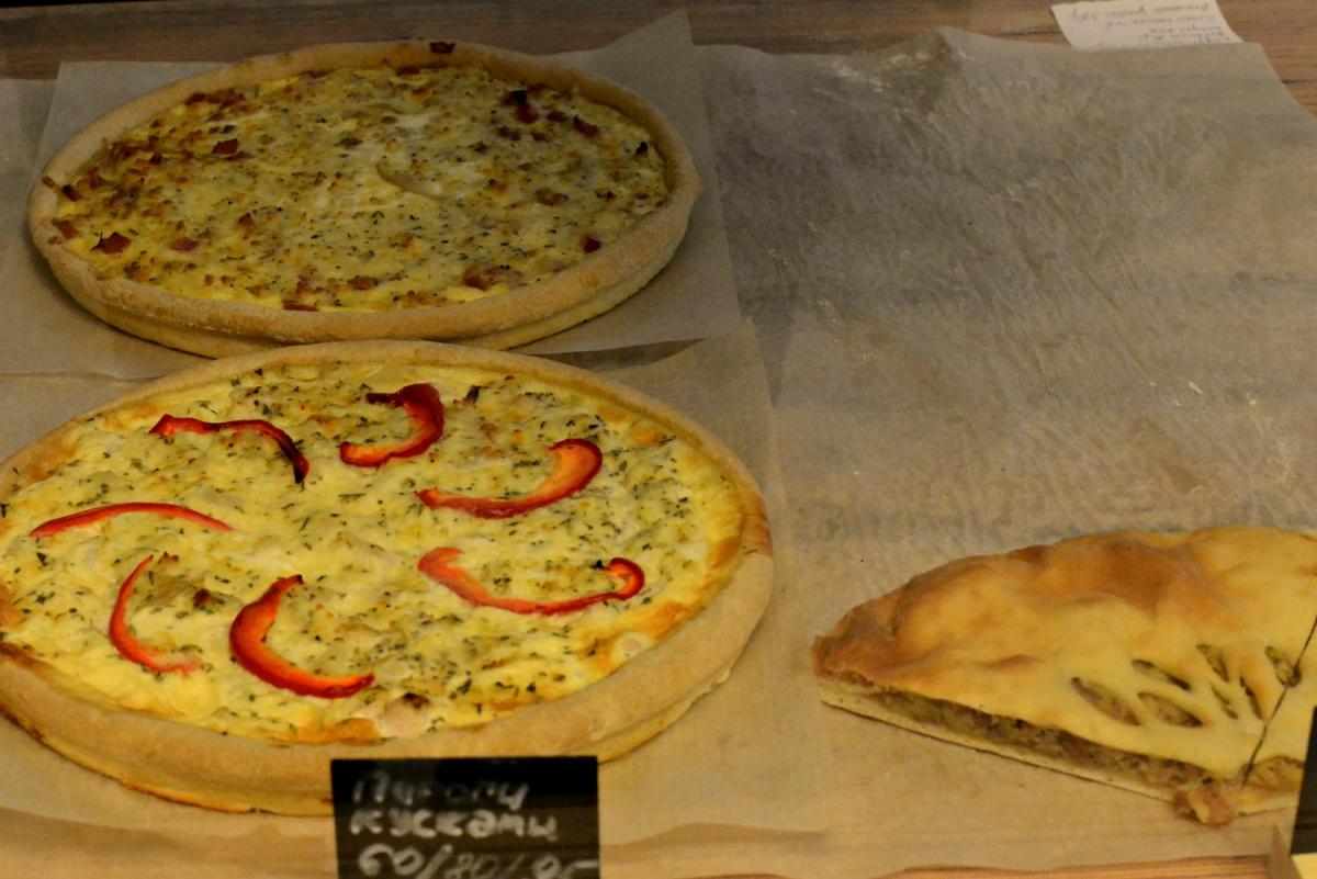 Основная специализация доставки — пироги и пицца