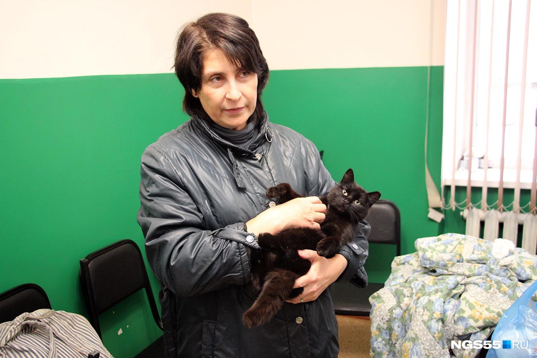 Трёхлапую кошку Валерия Бегма подобрала по пути на работу