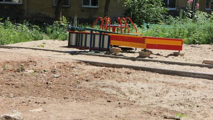 В Самаре выявили 73 детские площадки, которые расположены над трубами водоснабжения