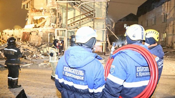 Спасатели завершили разбор завалов рухнувшего дома в Покровке: найден второй погибший