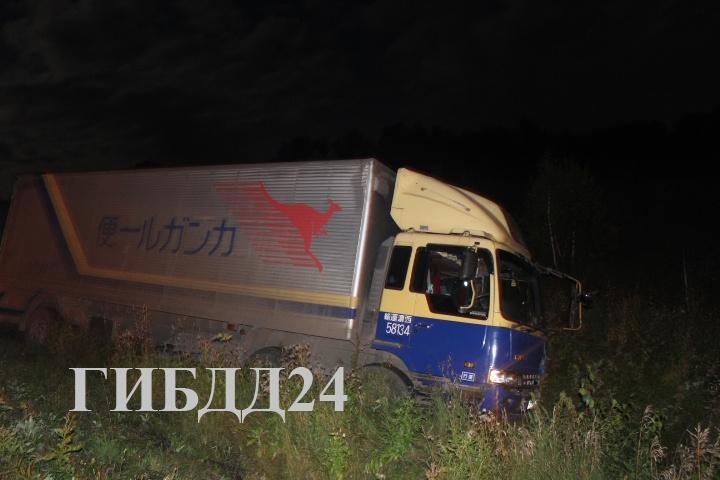 ВКрасноярском крае три человека погибли после столкновения автомобиля слосем