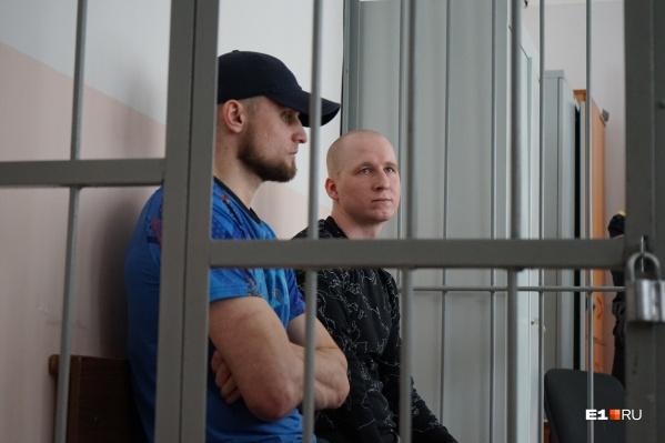 За решёткой два участника банды — Артём Лебедев и Владислав Полторыбатько