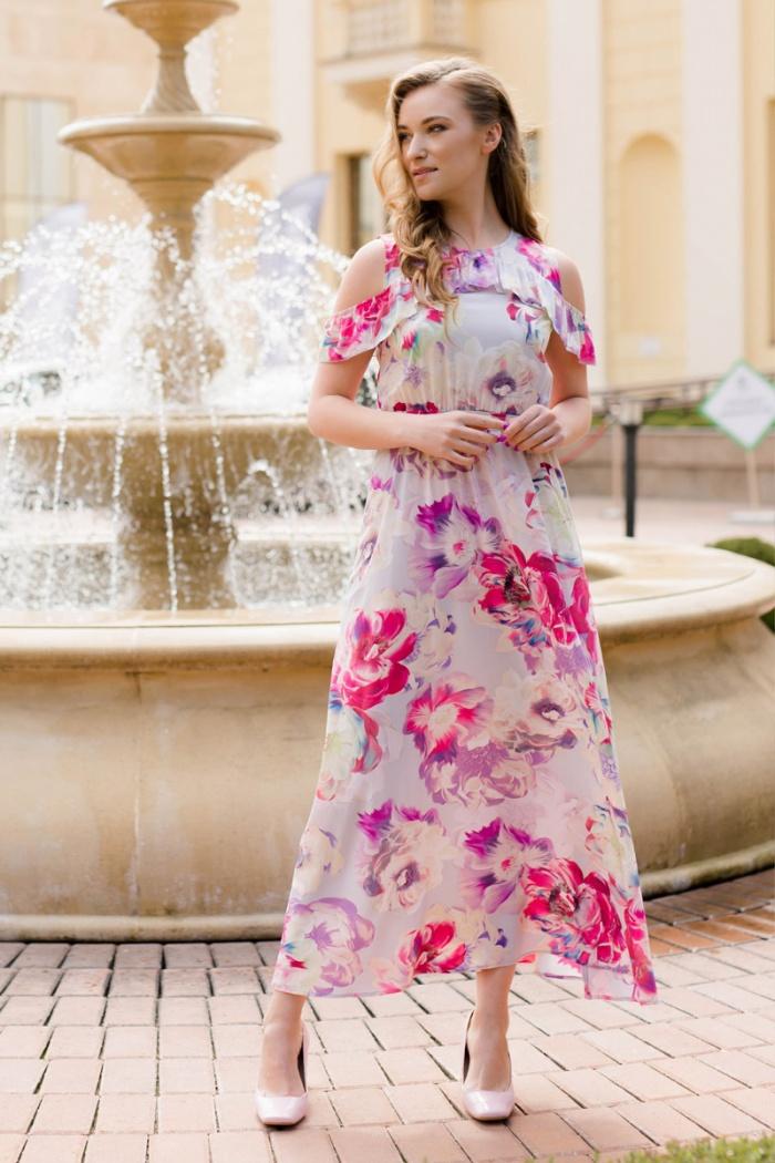 Блузка с открытыми плечами в омске