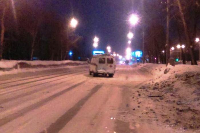 ДТП случилось ночью на улице Никитина
