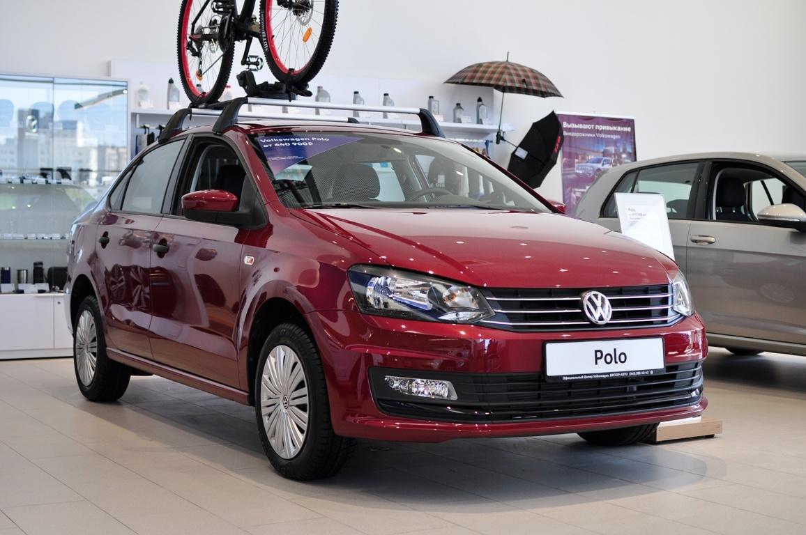 Volkswagen Polo в «Регинас-Бессер»: финальная цена по телефону +7 (343) 312-23-55