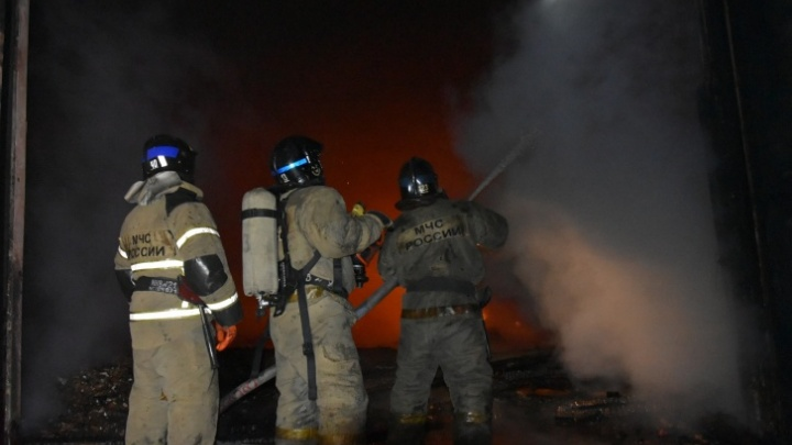 В пожаре в Тобольском районе погиб мужчина