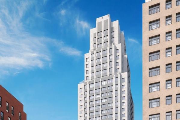 Башня «Ньютон Парка» будет одним из самых высоких зданий Екатеринбурга