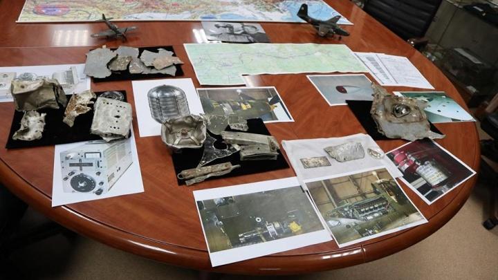 В окрестностях Красноярска нашли части пропавшего без вести самолета времен Отечественной войны
