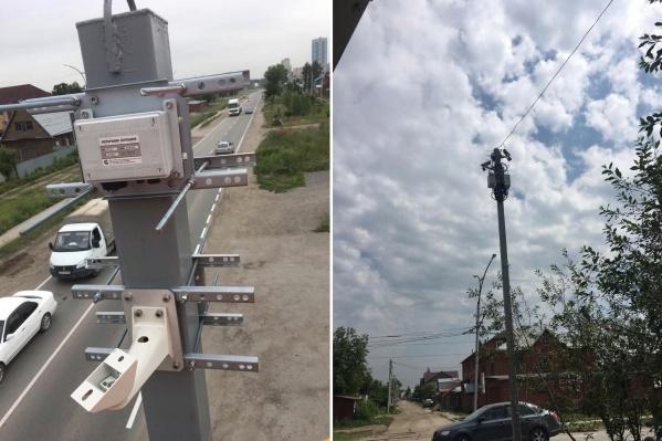 Камеры поставили недалеко от пересечения Связистов и Титова