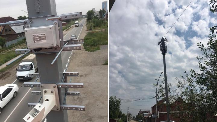 На Связистов поставили новую камеру, чтобы остановить наглых водителей грузовиков