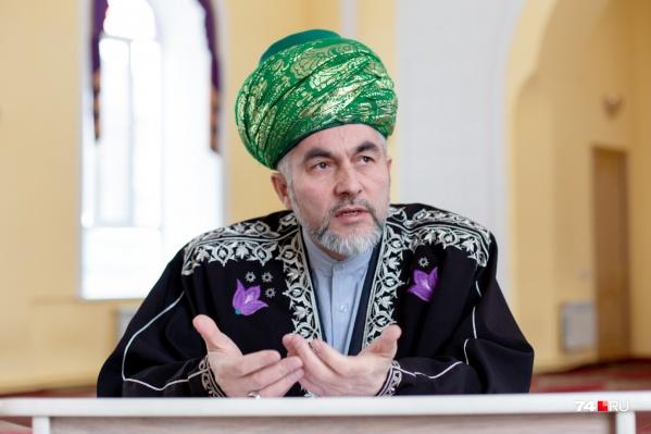 Ринат Раев был назначен муфтием Челябинской и Курганской областей в 2006 году