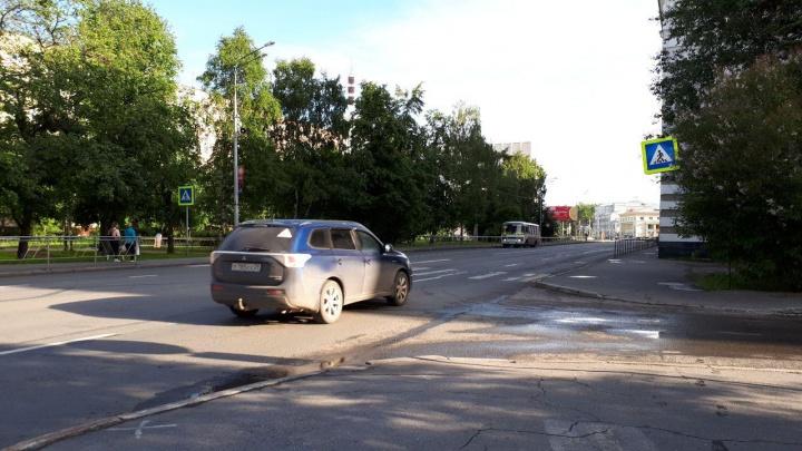 Топайте до светофора: в Архангельске исчезнут несколько нерегулируемых пешеходных переходов