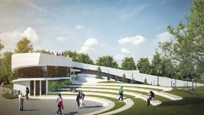 Мэрия Перми объявила аукцион на строительство спорткомплекса в экстрим-парке