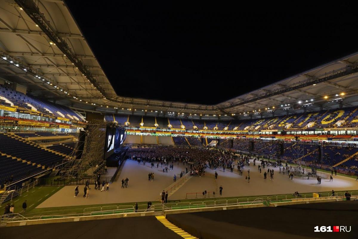 Концерт рэпера собрал тысячи фанатов