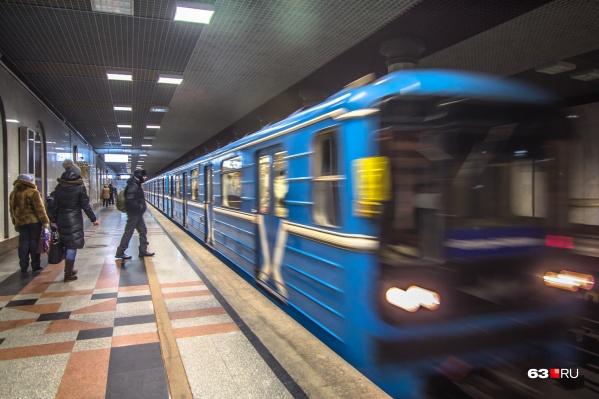 Поезда в самарской подземке не обновляли с советских времен