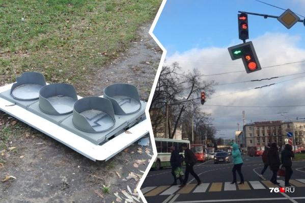 Власти пообещали восстановить работу светофоров как можно скорее
