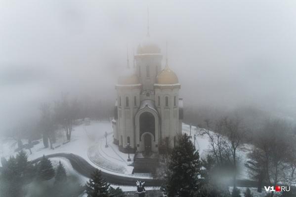 В Волгограде сегодня гололёд и снег при 0 ºС