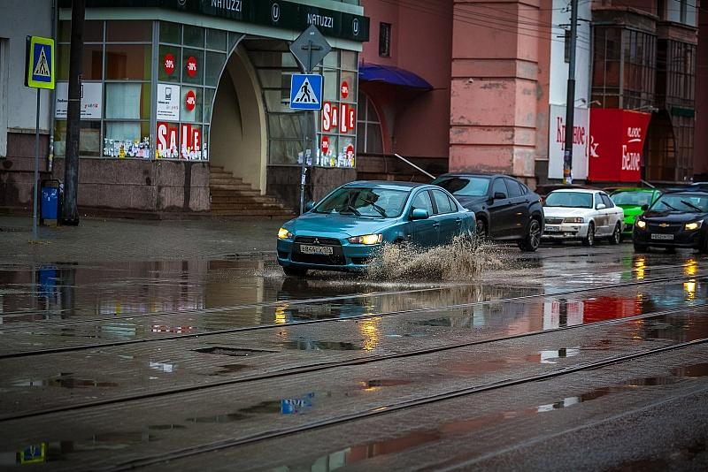 Дожди задержатся на Южном Урале минимум до пятницы