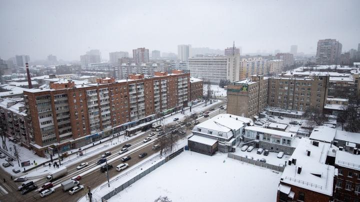 Ростов в пробках: снежный коллапс в режиме онлайн