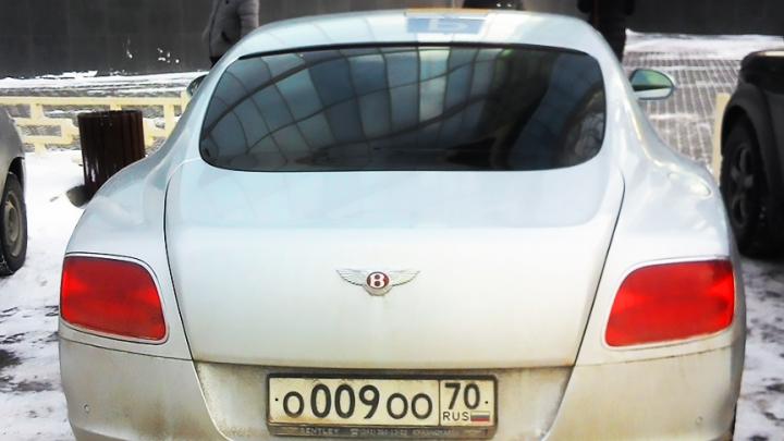 «Я паркуюсь как чудак»:Bentley О009ОО — такой номер даёт право на инвалидность