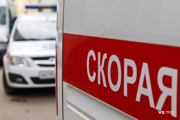 С места ДТП пострадавших забрали в больницу Волжского