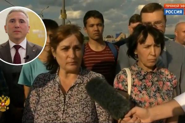 Знал ли глава Тюменской области, что в эфире с президентом прозвучит вопрос от жителей Каскары, или для него это стало большой неожиданностью— неизвестно
