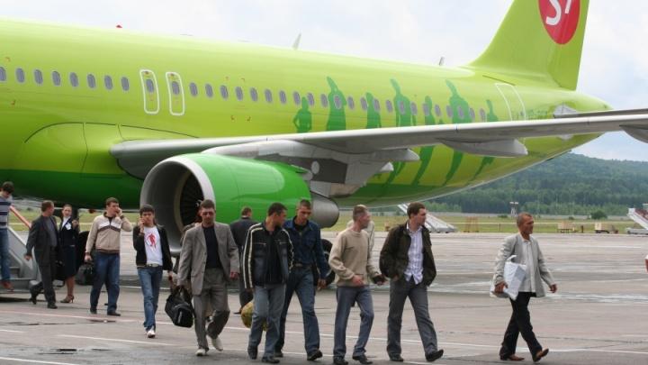 Житель Красноярска угрожал взорвать самолет из-за отказа пересадить его из эконома в бизнес-класс