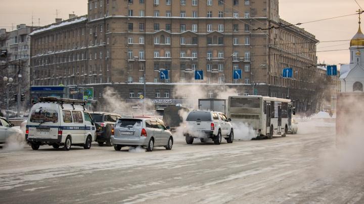 Гололёд, метели, слякоть: циклон несёт в Новосибирск очень короткое потепление