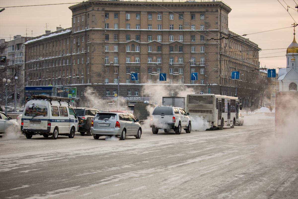 После небольшой оттепели в город придёт мороз до –26 градусов