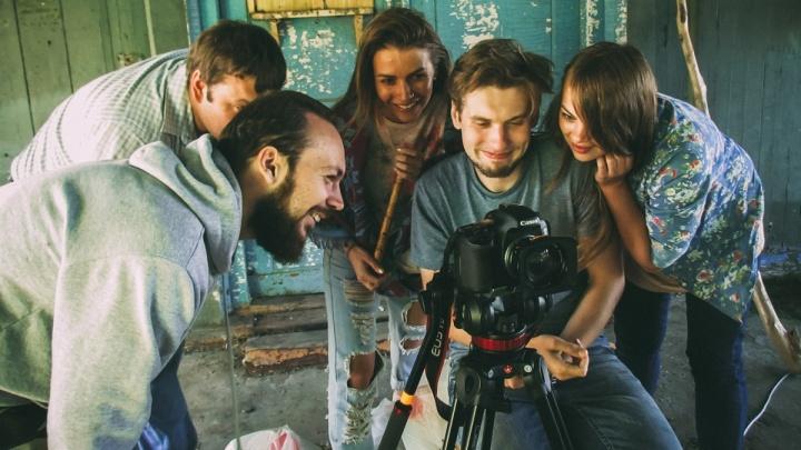 Лучшему молодому режиссёру Новосибирска подарили квадрокоптер